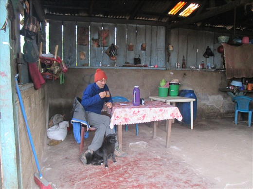 the kitchen/ dining room, Las Palmeras
