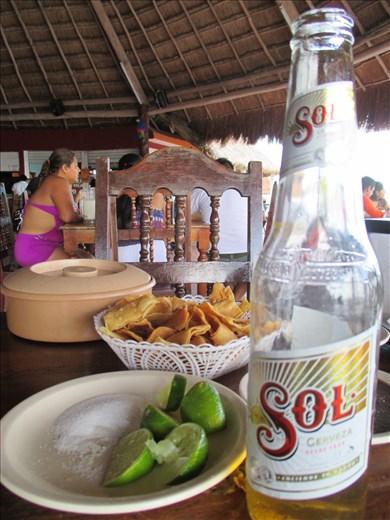Lunch a la Mexican, Bacalar