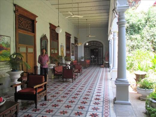 Our hotel, Merida