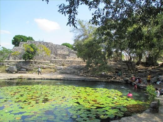 Cenote (sinkhole) at Dzibilchaltun
