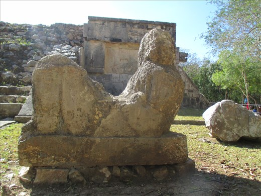 Sacrificial table, Chichen Itza