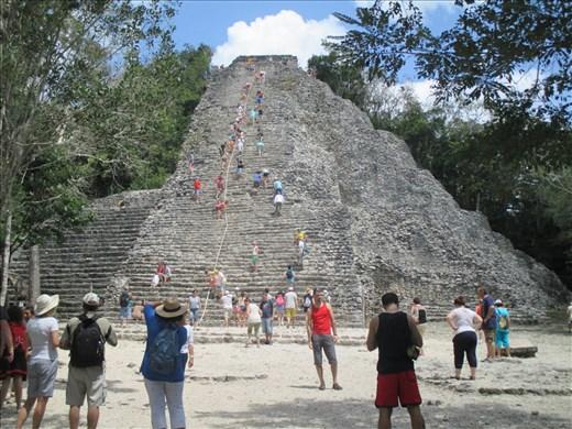 Nohoc Mul temple, Coba