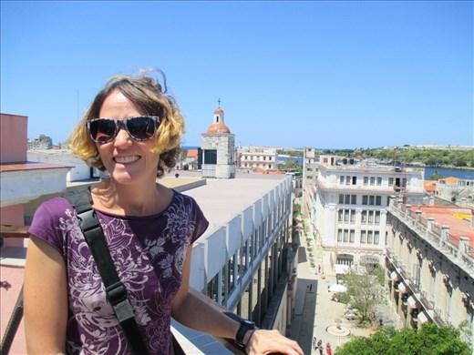 Habana vieja, views from the rooftop bar of the Ambos Mundos hotel