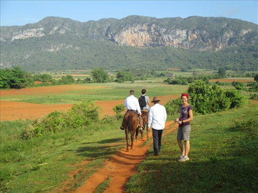 A walk in the countryside at Vinales
