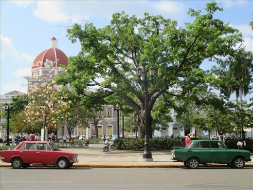 Cienfuegos town square