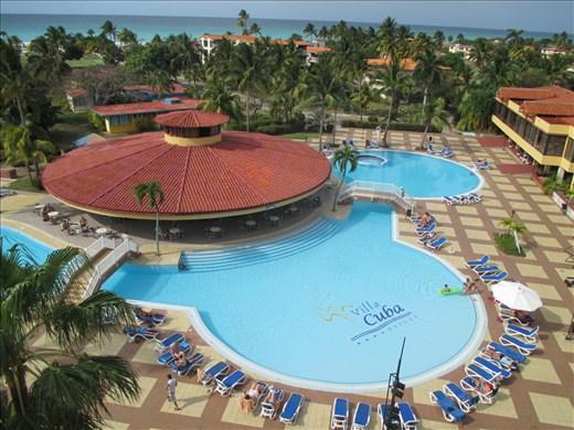 Ending with a bang at an all-inclusive beach resort, Varadero