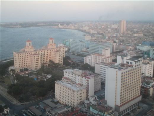 View over Vedado, Habana