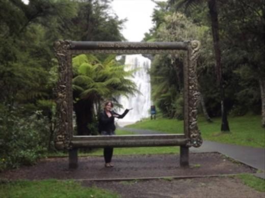 Hunua ranges in Auckland