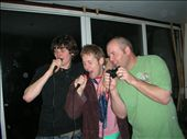 Tri Nations Karaoke... The Aussie won't win this one singing into the control: by kiwi_bedouin, Views[146]