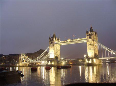 Tower Bridge @ 5:30 AM