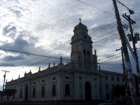 Beautiful colonial church