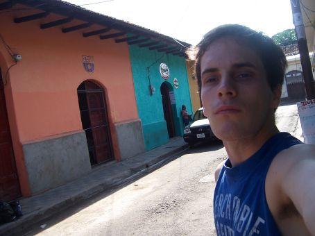 Self-shot as I'm starting my exploration of Granada