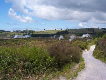 Craters of the Moon at Wairakei