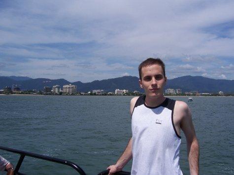 On my way to Fitzroy Island
