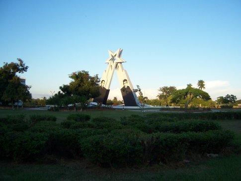 Socialist monument in Pinar del Rio