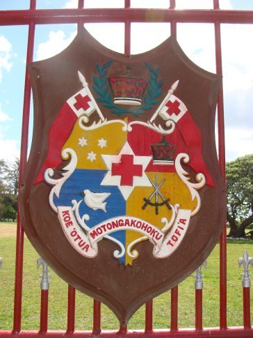 Tonga's coat of arms