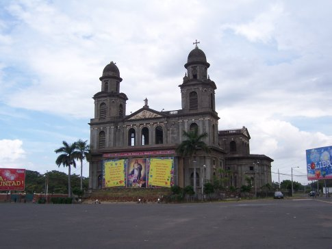 Managua's battered, earthquake-damaged cathedral that's had no repairs in 37 years