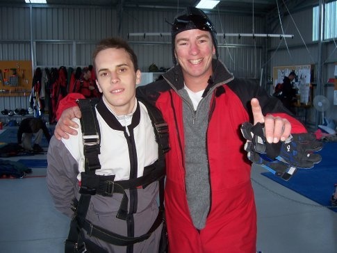 After the jump of my life!