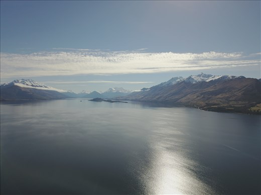Lake Wakatipu from Bennett's Bluff