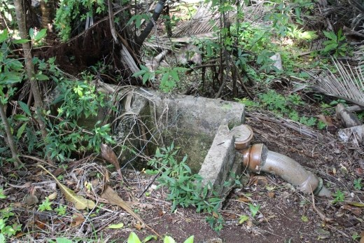 old septic tank