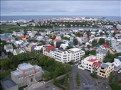 From every angle, you can marvel at the colorful rooftops of Reykjavik: by kiwiaoraki, Views[477]