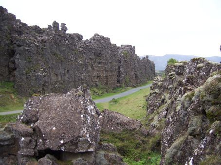 Beautiful shot of Þingvellir