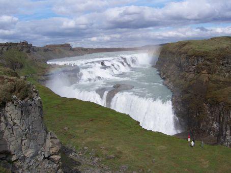 Gullfoss: spectacular, beautiful, scenic