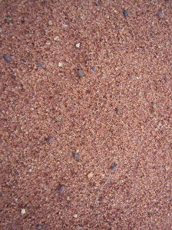 Red Outback sand