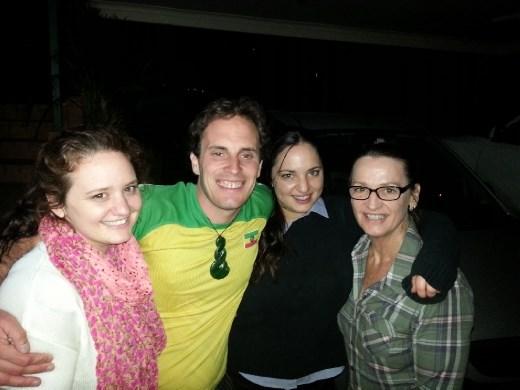 Emily, myself, Hannah, & Carmel