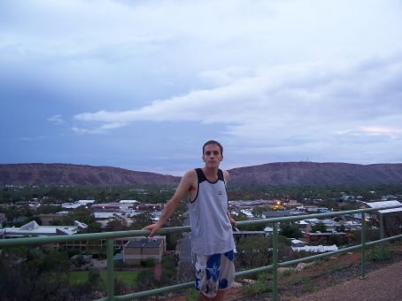 I read about Alice Springs as a young boy and now I'm here
