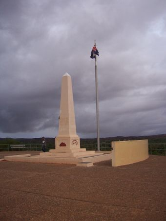 Memorial on Anzac Hill