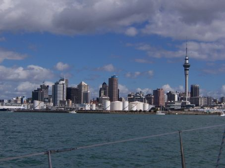 Auckland: a very lively city!