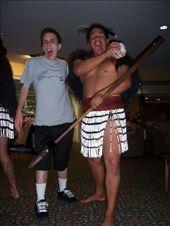 With a Maori doing the haka: by kiwiaoraki, Views[412]