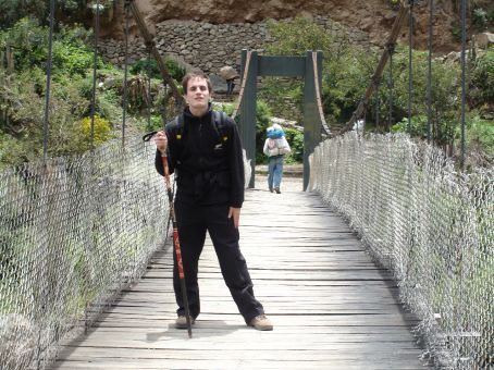 I was as sick as a dog, but I was ready and determined to complete the Inca Trail