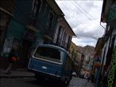The street of our hotel. La Paz, Bolivia.: by klynne, Views[246]