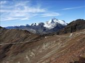 View of mount Potosi from Chacaltaya, Bolivia (5300m): by klynne, Views[466]