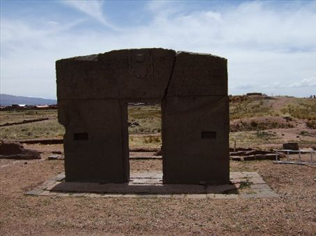 Gateway of the Moon, Tiwanaku, Bolivia