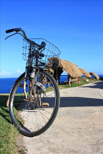 2nd hand - Batanes island's only transportation, Japanese 2nd hand bicycles