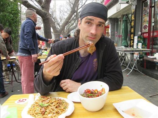 Eating jellyfish in Beijing