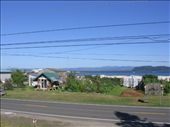The view from the balcony, you can see the garden, Sandy's pottery shop and the bay: by kp207105, Views[68]