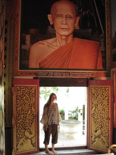 one of the many Buddhist temples in Thailad