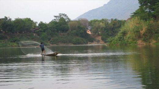 Mekong River, we followed her through the country