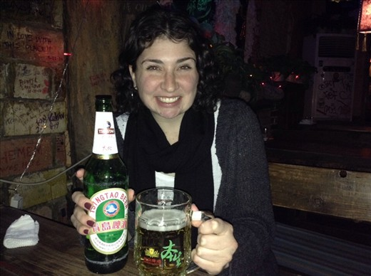 China has good beer bottle sizes :D NYE in the hostel