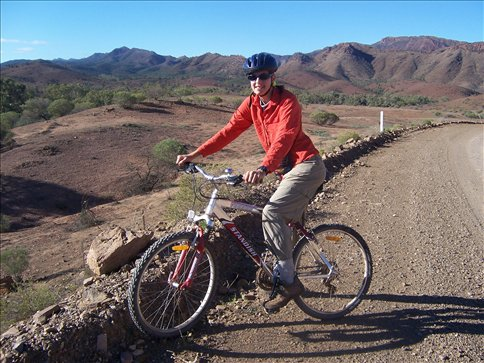 Cycling the Flinders Ranges