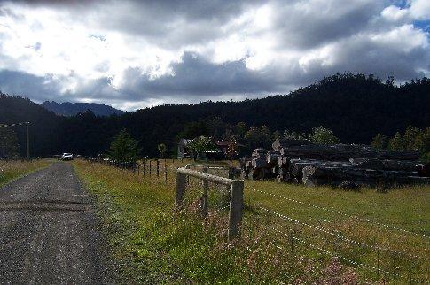 Countryside near host 4