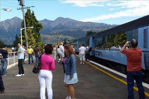 Arthur's Pass on the Tranzscenic rail journey