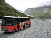 Stray Bus at Fox Glacier: by kristamrome, Views[193]