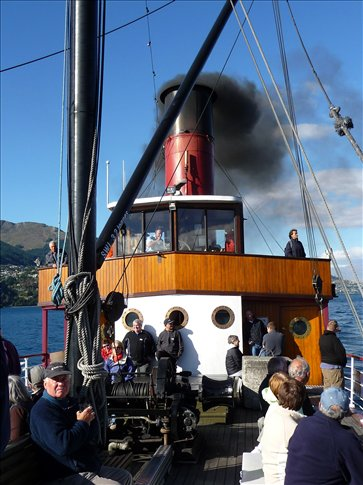 TSS Earnslaw steamship - Queenstown