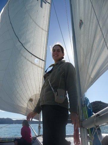 Sailing through Abel Tasman National Park