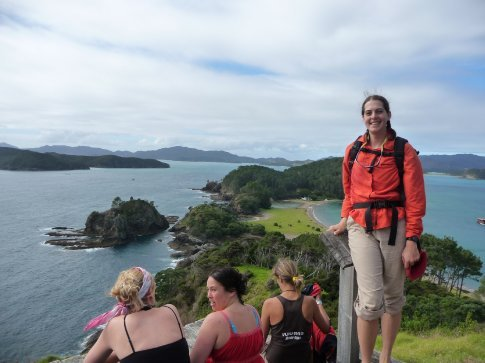 Viewpoint in Bay of Islands